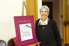 Sr. Jeanette Braun, SND - founding Director, TABLE of PLENTY HMB