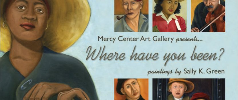 TOP's Artist showing Mercy Center